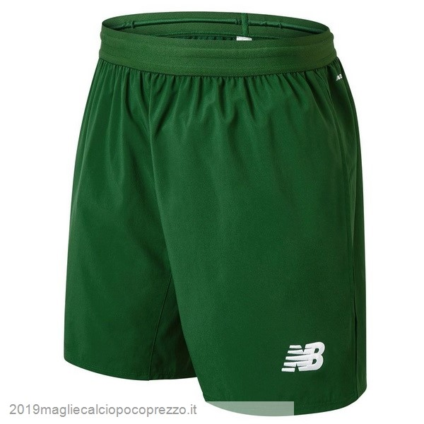 Acquisto Maglie Calcio New Balance Away Pantaloncini Celtic 18-19 Verde